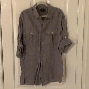 Island Company Men's Linen Pilot Shirt